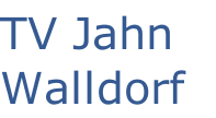 TV Jahn Walldorf